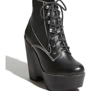 Jeffrey Campbell Tardy Boot in Black